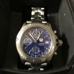 Tag Heuer Link Series Chronograph With Warranty Letter Men's Watch