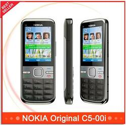 Nokia C5-00i C5-00 5mp 3g Wcdma Dual Camera Bluetooth Long Stand-by Bar Style