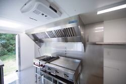 12and039 Mobile Concession Hood System With Two Exhaust Fans