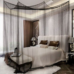 4 Corner Post Bed Canopy Elegant Curtain Mosquito Net Full/queen/king Size Bed