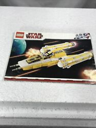Lego Star Wars Anakin's Y-wing 8037 Instructions Manual Booklet Only Clone Book