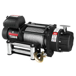 Warrior Winches T1000-220 Elite Combat 22000 Lbs. Winch W/ Steel Cable New