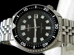 Seiko Custom Second Diver 7002 6105 2nd Menand039s Watch