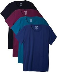 Bolter 4 Pack Menand039s Everyday Cotton Blend Short Sleeve T-shirt