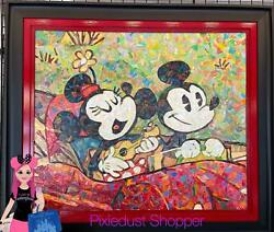 Disney Festival Of The Arts Andldquohavin Funandrdquo Mickey And Minnie Full Sized Rolled Canv