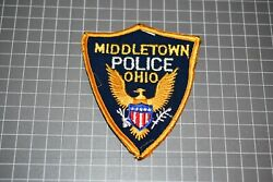 Middletown Ohio Police Patch Us-pol