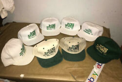 The Augusta Masters Golf Hats Lot 1989,90,91,92,93,96,97,98. Cbs Sports Producer