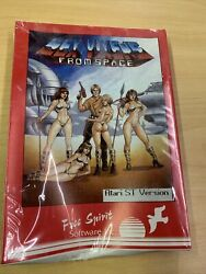 New Sex Vixens From Space Atari St Sealed Vintage Game Very Very Rare
