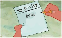 To Do List Poster Man Cave Banner Flag 3x5 Ft College Dorm Decor 2021 Family US