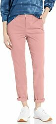 William Rast Womenand039s Chino Rolled Cuff Ankle Pant