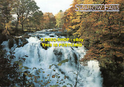 L130075 Swallow Falls. Hinde. Betws Y Coed. Celtic Picture Library