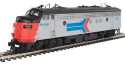 Walthers 920-42513 Ho Amtrak Fp7 F7b Diesel Locomotive With Dcc 110 161