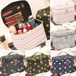 Travel Cosmetic Bags Toiletry Wash Zip Pouch Multi Function Women Makeup Case $12.99
