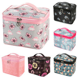 Womens Travel Cosmetic Bags Toiletry Makeup Beauty Organizer Storage Pouch Case $11.99