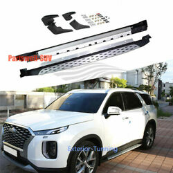 Running Boards Fits For Hyundai Palisade 2019 2020 Side Step Bar Pedal Nerf Bar