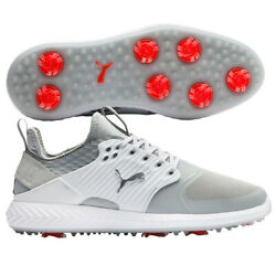 Ignite Pwradapt Caged Golf Shoes - Gray Violet/silver/white