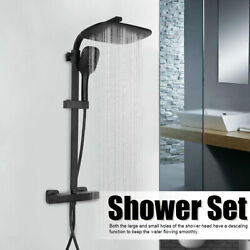 Stainless Steel Shower System Kit With Thermostatic Mixer Rainfall Function