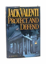 Valenti / Protect And Defend Signed By Nancy Pelosi And 117 Dc Vips 1st 1992