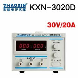 Dc Power Supply 30v 20a Adjustable Led Single Phase Jiw Switching Variable Tools
