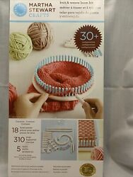 Martha Stewart Knit And Weave Loom Kit - 30+ Configurations - New In Box