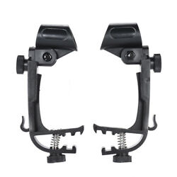 10x Microphone Stage Drum Clips Mic Rim Mount Clamp Holder Stand Adjustable D3q2