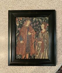 wall hanging tapestry In Picture Frame