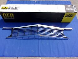 New 1966 Chevrolet Impala And Full Size Front Upper Grill Oer 3869745 Gm Licensed