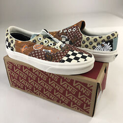 New Off The Wall Era Tiger Patchwork Shoes Women Size 6 And 6.5 Vn0a4u391io