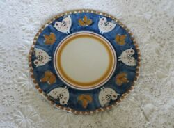 NEW VIETRI SOLIMENE CAMPAGNA CHICKEN LARGE PLATE PLATTER 11.5quot;