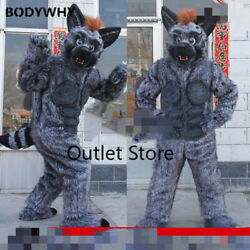 Fursuit Muscle Fox Dog High-quality Easter Handmade Mascot Costume Cosplay Party