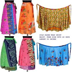 Wholesale Lot Indian Silk Skirts Midi Skirts Mini Skirts Wrap Skirts Maxi Skirts