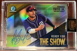 Topps Archives Signature Series Fernando Tatis Jr Auto 2/2 Ready For The Show