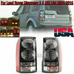 Pair Tail Light For Land Rover Discovery Lr3 Lr4 2004-2014 2015 2016 Rear Lamp