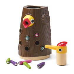 Top Bright Hungry Woodpecker Toy For 2-4 Years Boys And Girls - Fine Motor Skills
