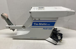 Tie-matic Plas-ties Packaging And Bundling Model Hd 38 Hd38 Andldquofor Partsandrdquo