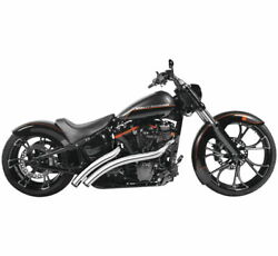 Freedom Performance Hd01190 Radical Radius Crossover With Star Tips For V-twin