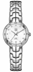 Brand New Tag Heuer Link Automatic Diamond Womenand039s Watch Wat2315.ba0956 For Sale