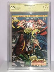 Tomb Of Dracula 10 Cbcs Ss 6.5 First Appearance Of Blade. Sig. Wolfman Palmer