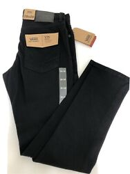 Nwt Men's Size 28/28 V76 Skinny Fit Black Jeans Off The Wall Nwt