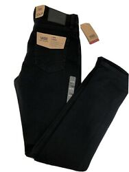 Nwt Men's Size 32/34 V76 Skinny Fit Black Jeans Off The Wall Nwt