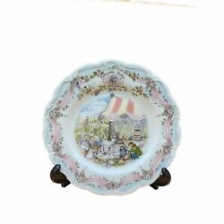 Royal Doulton Picture Plate Wedding Plate Brambly Hedge