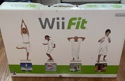 Nintendo Wii Fit Balance Board W/wii Fit Game- Open Box