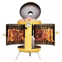 Bbq Kebab Machine Portable Charcoal Barbecue Grill Outdoor Camping Picnic Stove