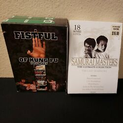 A Fistful Of Kung Fu 5 Movies + Samurai Masters 18 Movies Free Shipping Dvd