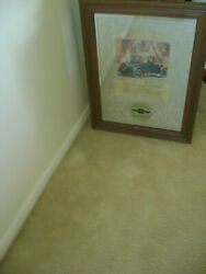 Chevrolet Chevy Auto Car Dealership Sign Glass Mirror 26x20 George Nathan Assoc