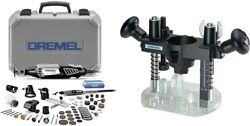 Dremel 4000-6/50 High Performance Rotary Tool Kit With Flex Shaft- 6 Attachments