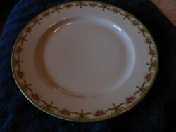 T And V Limoge Rose Pattern China