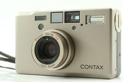 【mint】 Contax T3 Titan Silver 35mm Point And Shoot Film Camera From Japan 941