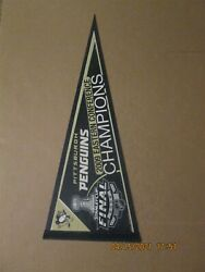 Nhl Pittsburgh Penguins Vintage 2009 Eastern Conference Champions Pennant