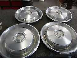 1966 1967 Cadillac Coupe Deville Fleetwood Hubcaps Low Rider Model A Project